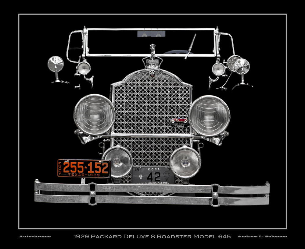 1929 Packard Deluxe 8 Roadster Model 645