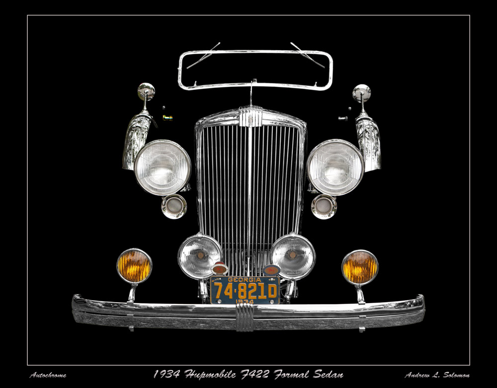 1934 Hupmobile F422 Formal Sedan