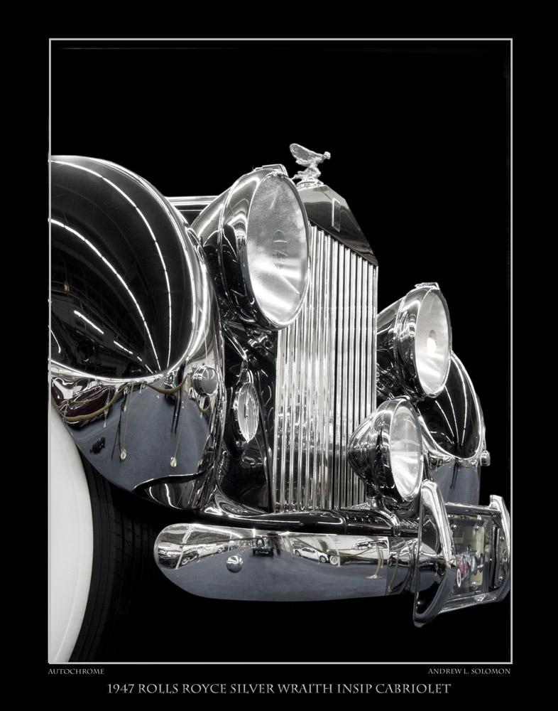 1947 Rolls Royce Silver Wraith Insip Cabriolet